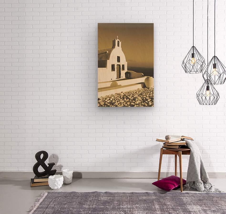 The Small Chapel  Wood print