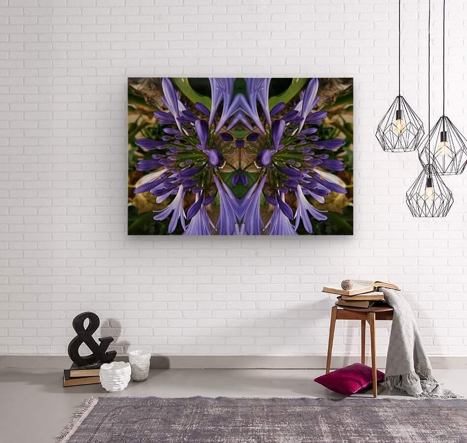 flower3  Wood print