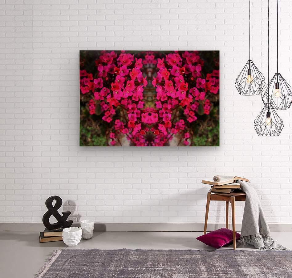 flower29  Wood print