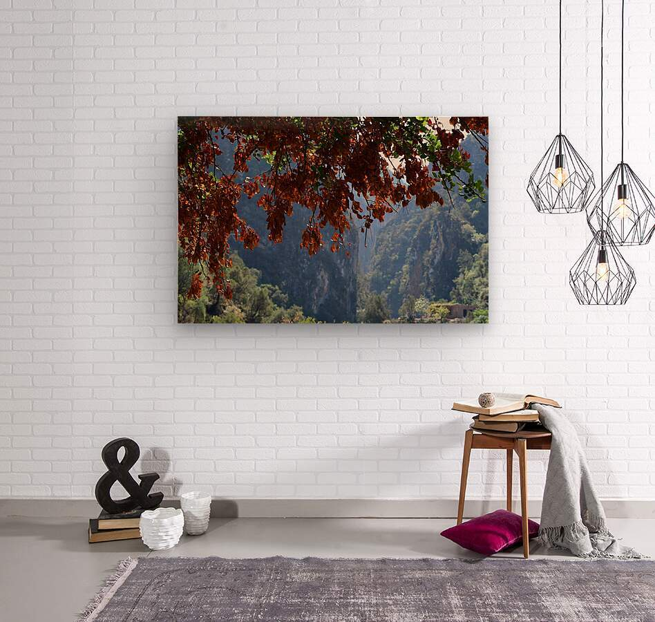 Akchour  Wood print