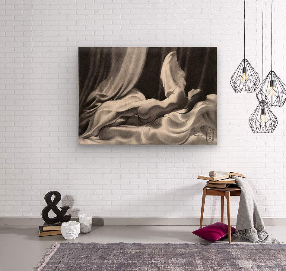 Roundism – 15-11-20  Wood print