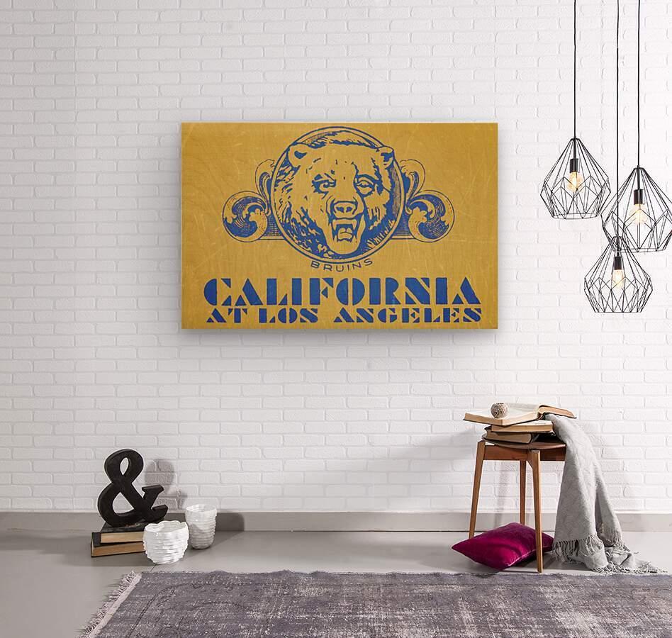 1938 California at Los Angeles  Wood print
