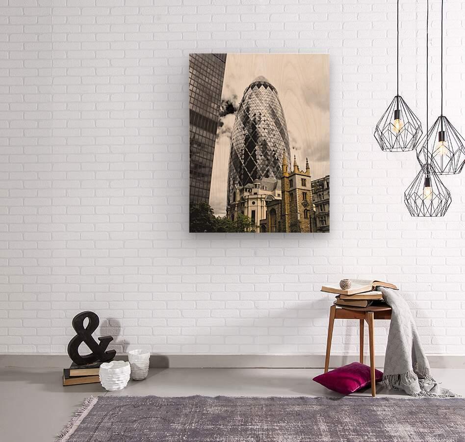 The Skyscraper  Impression sur bois