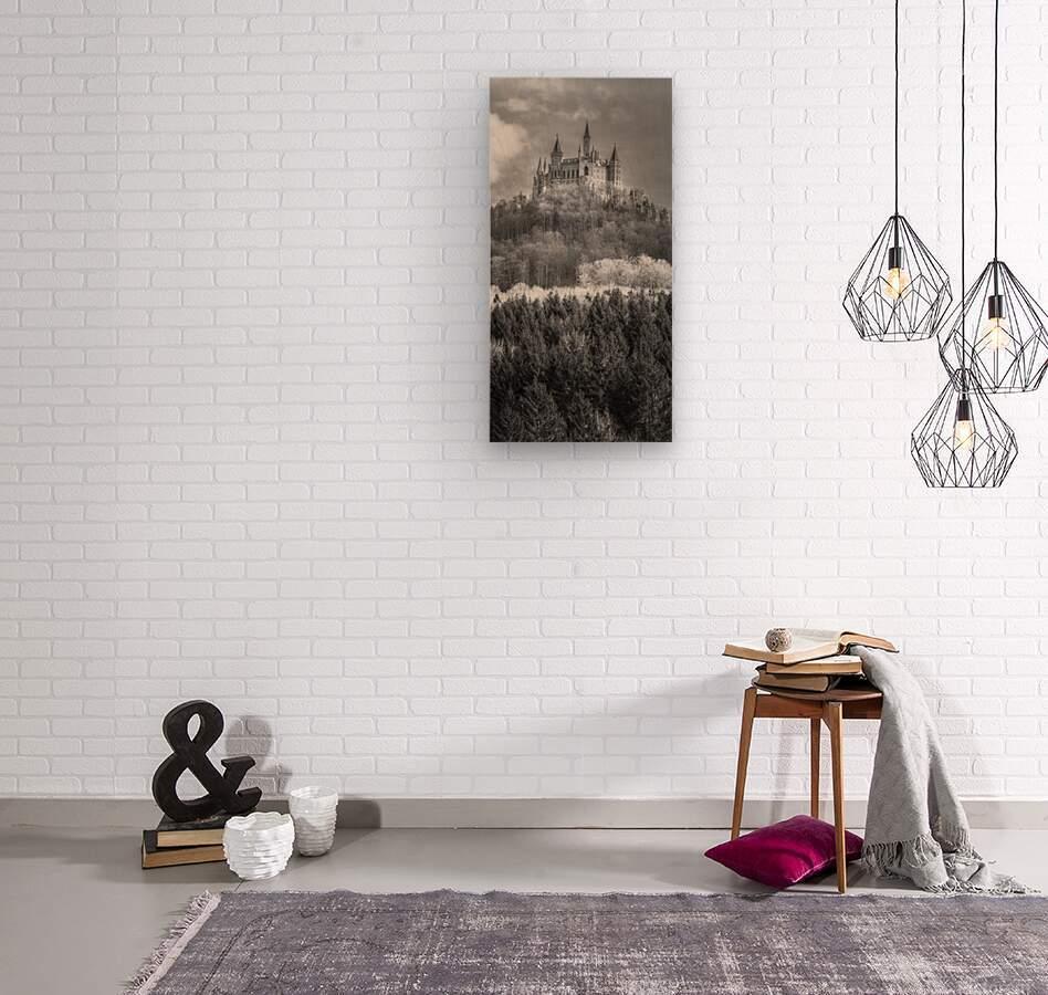 Hohenzollern Castle, Germany  Wood print