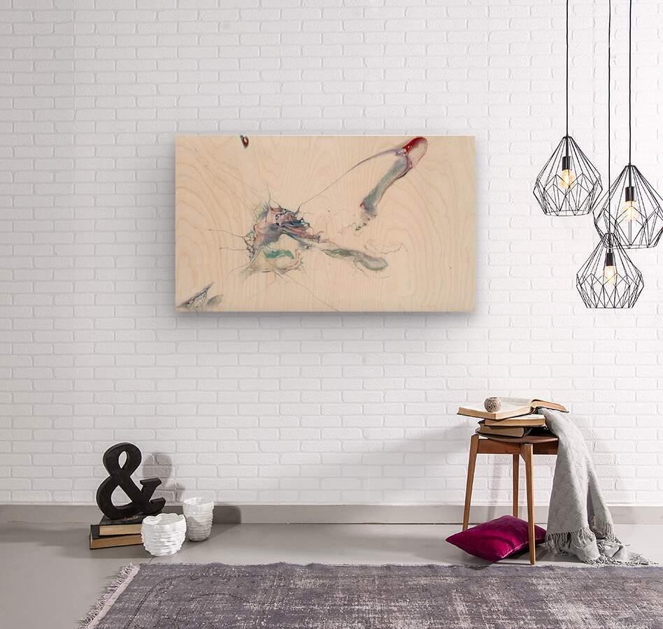 Uplift  Wood print
