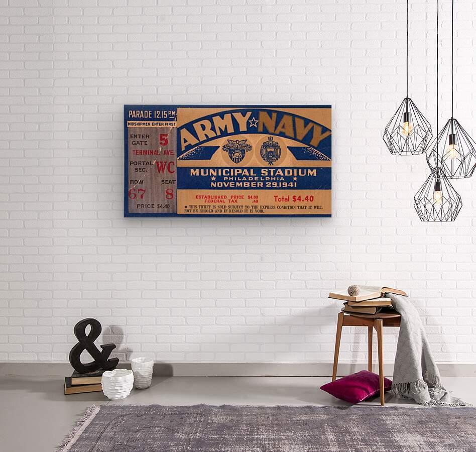 1941 Army Navy Game  Wood print
