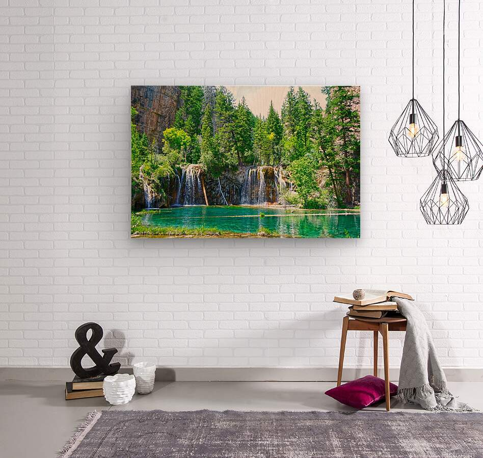 Wild Colorado  Wood print