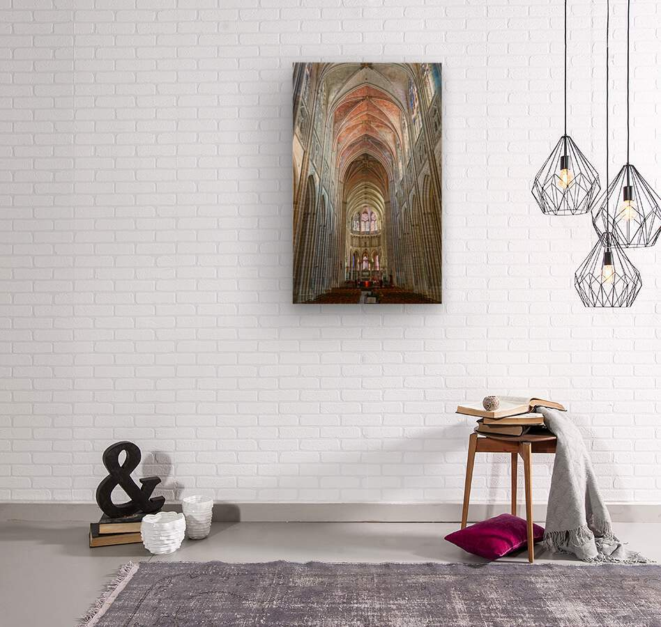 Immortal Cathedrale Saint Etienne 2 of 6  Wood print