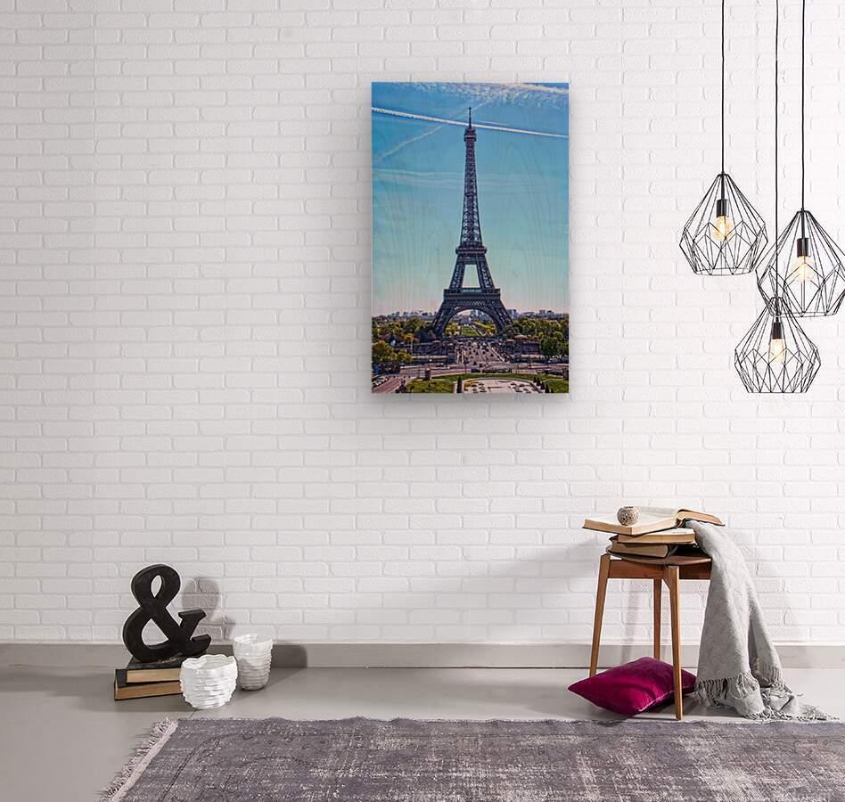 Majestic Eiffel  Wood print