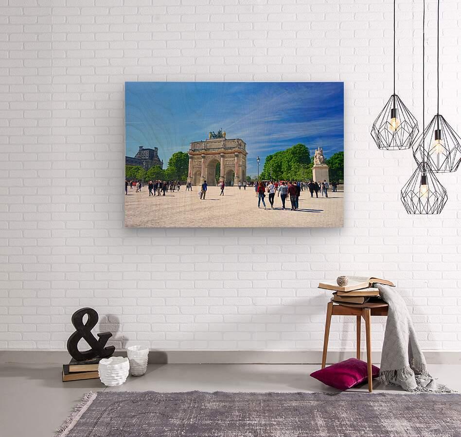 Immortal Paris 6 of 7  Wood print