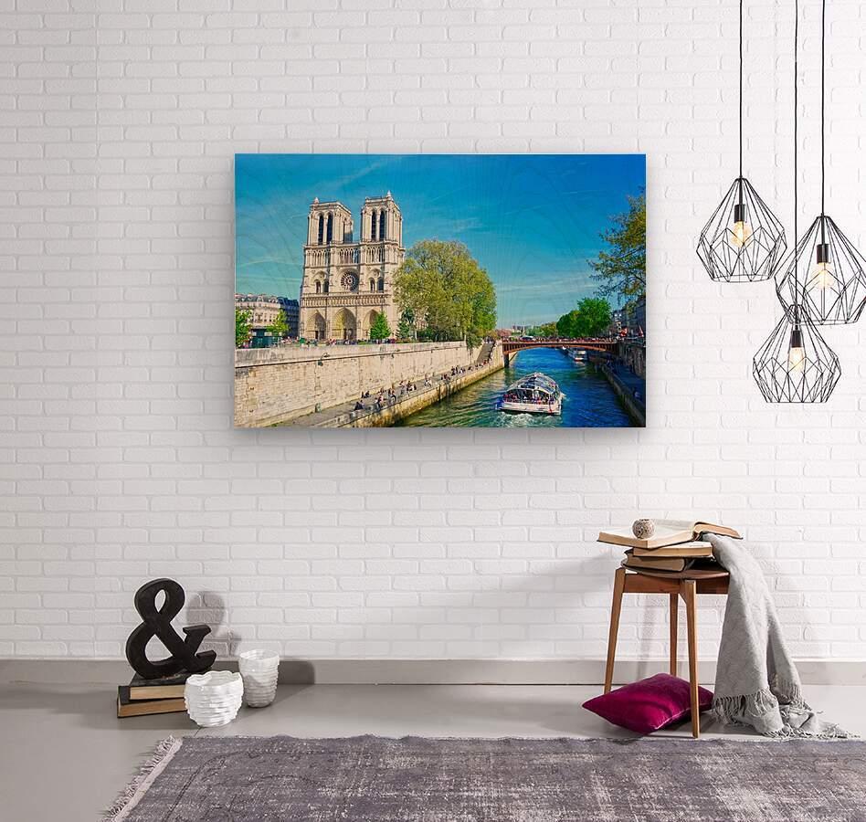 Paris Snapshot in Time 8 of 8  Wood print