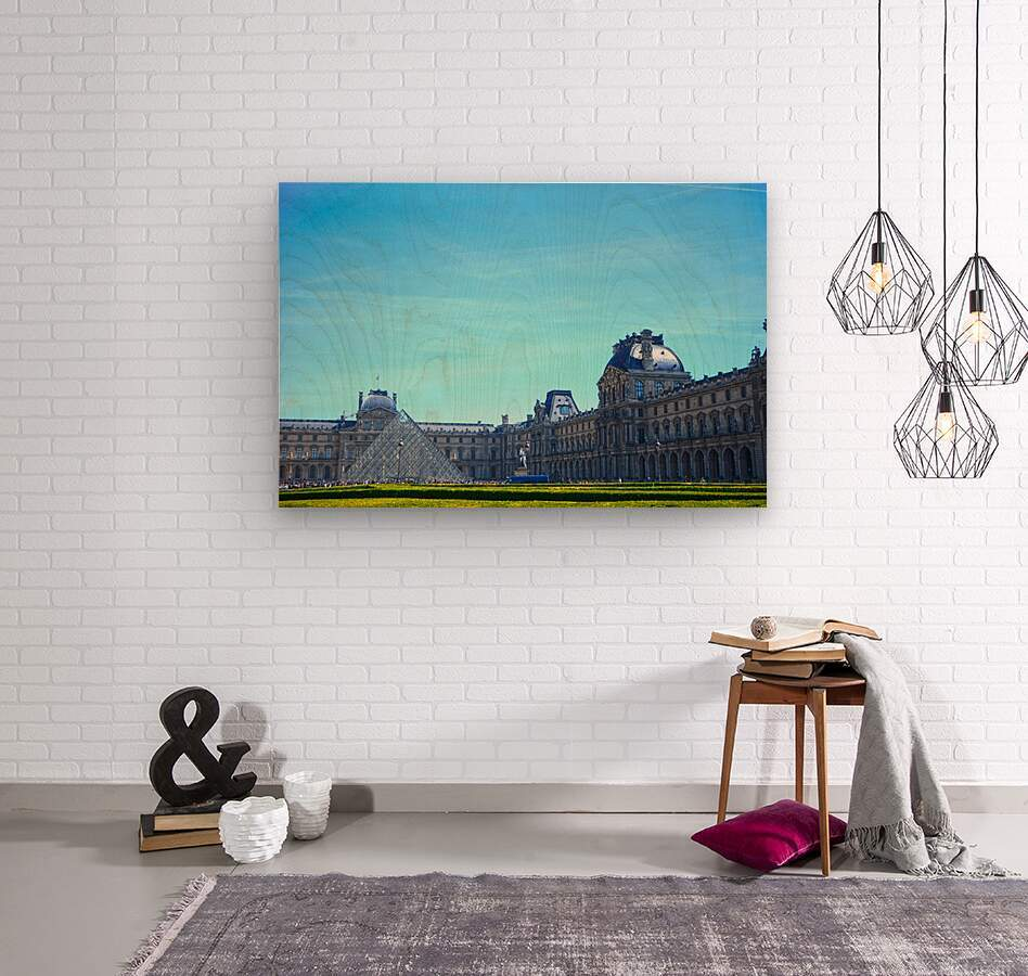 Paris Snapshot in Time 1 of 8  Wood print