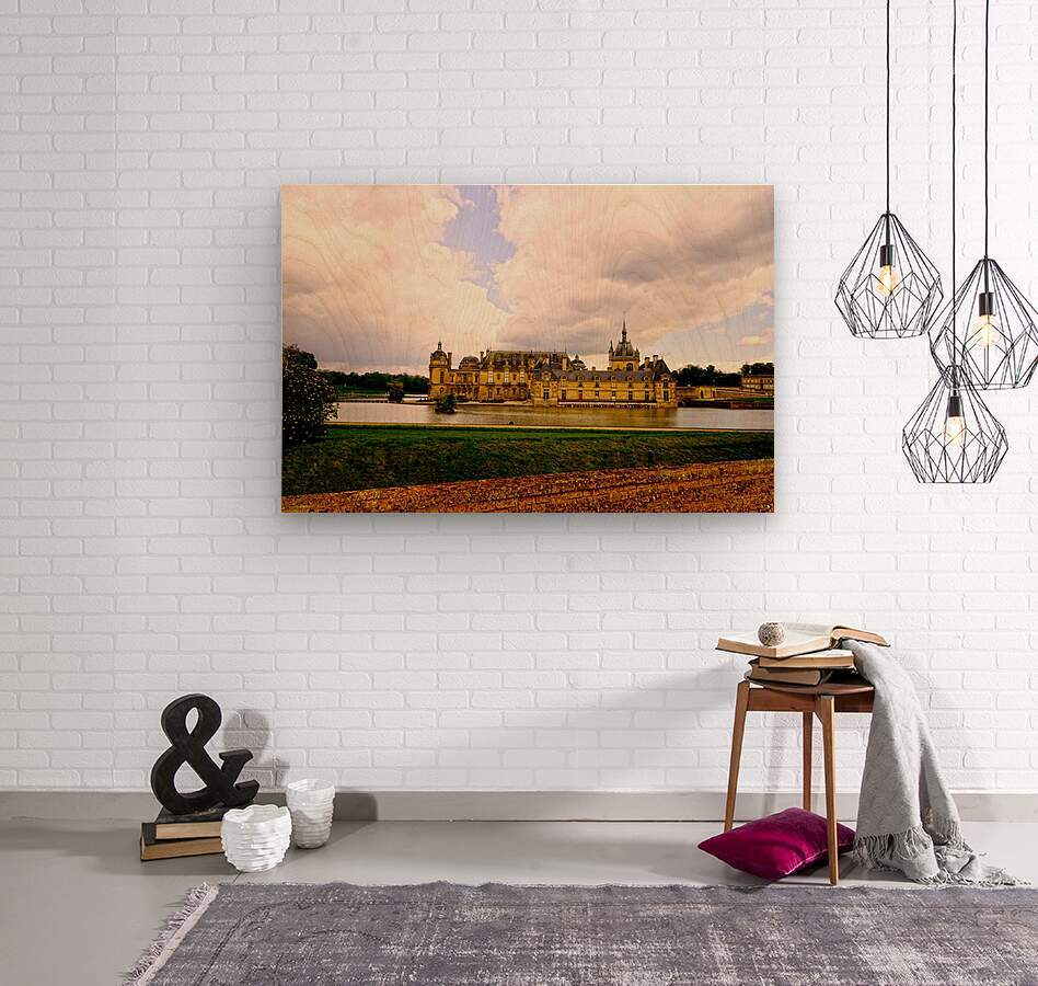 Chateaus of France  Wood print