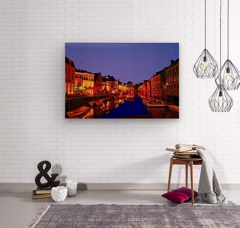 Beautiful Belgium 6 of 7  Wood print