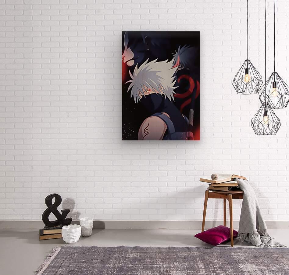 Naruto  Wood print