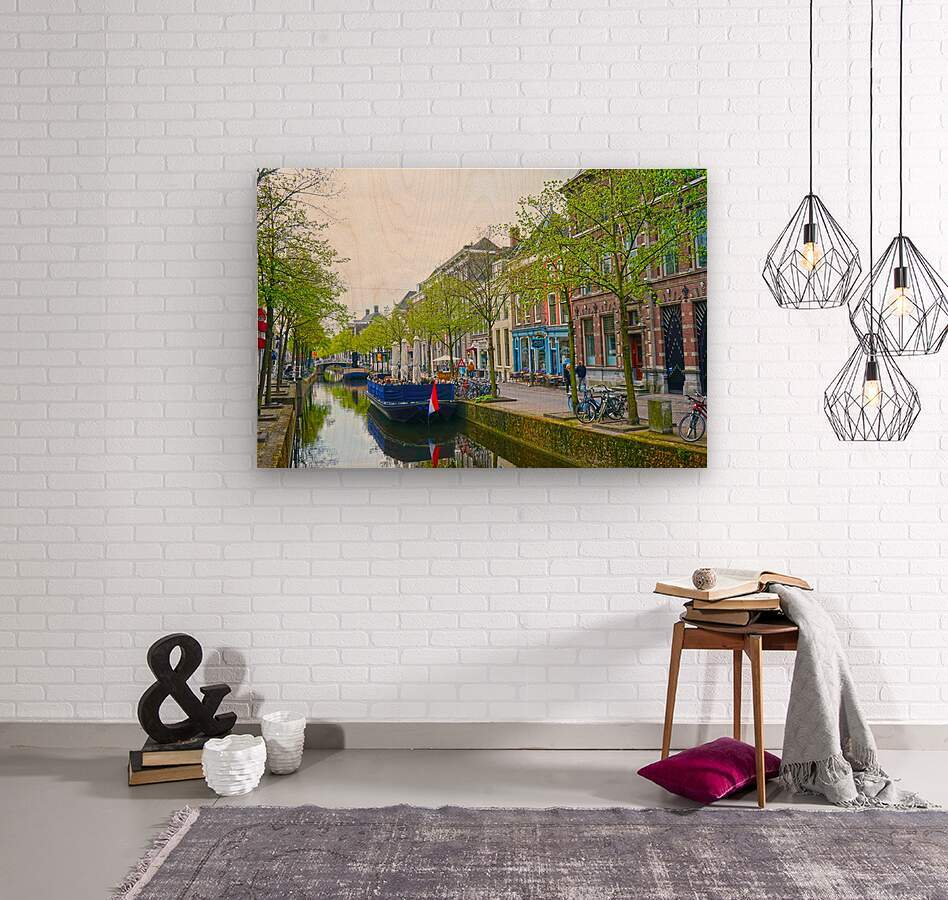 A Dream of the Netherlands 3 of 4  Wood print