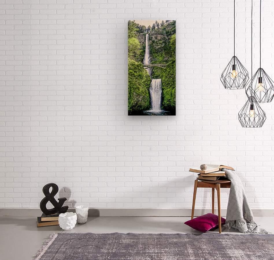 I Dreamed of Waterfalls  Wood print