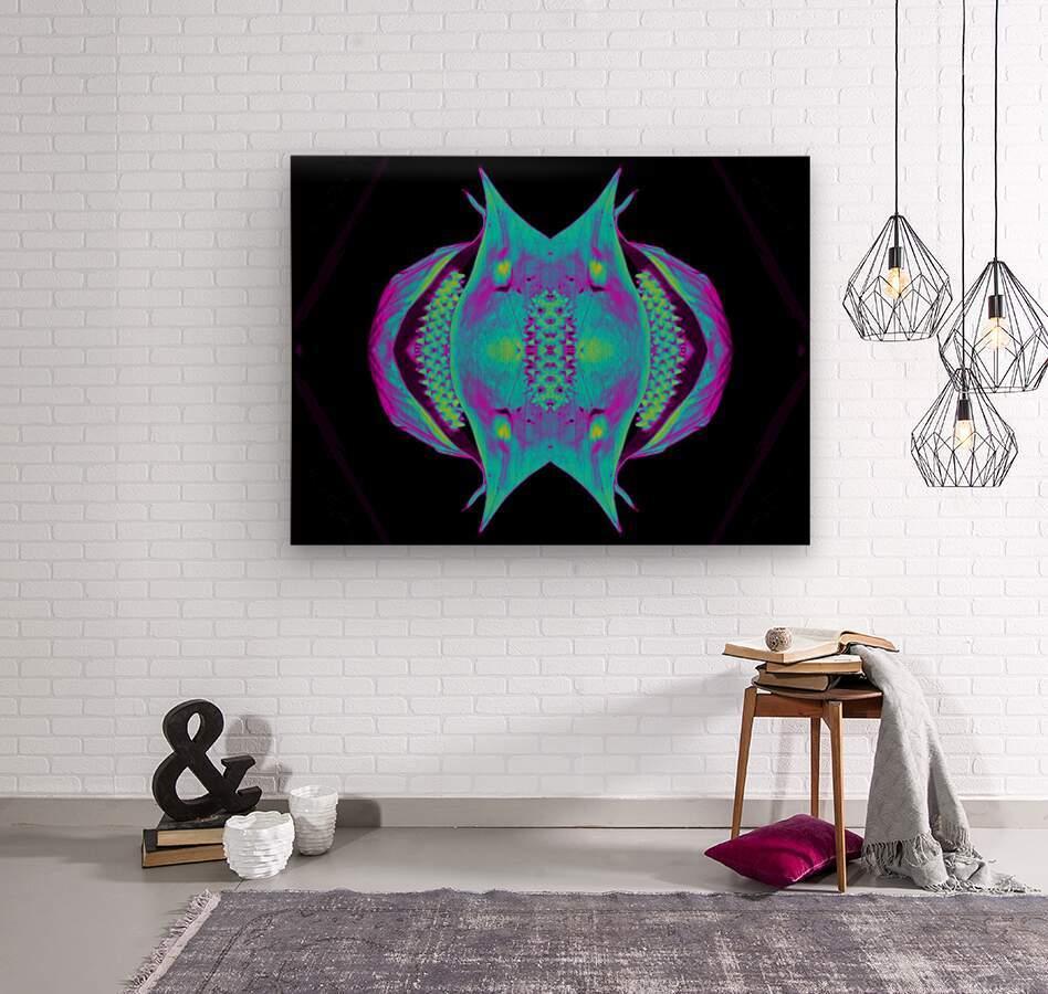 Portal  76   Wood print