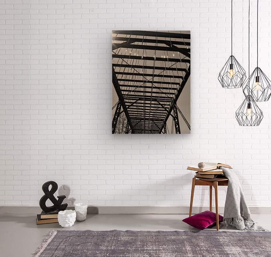 TUNING  Wood print