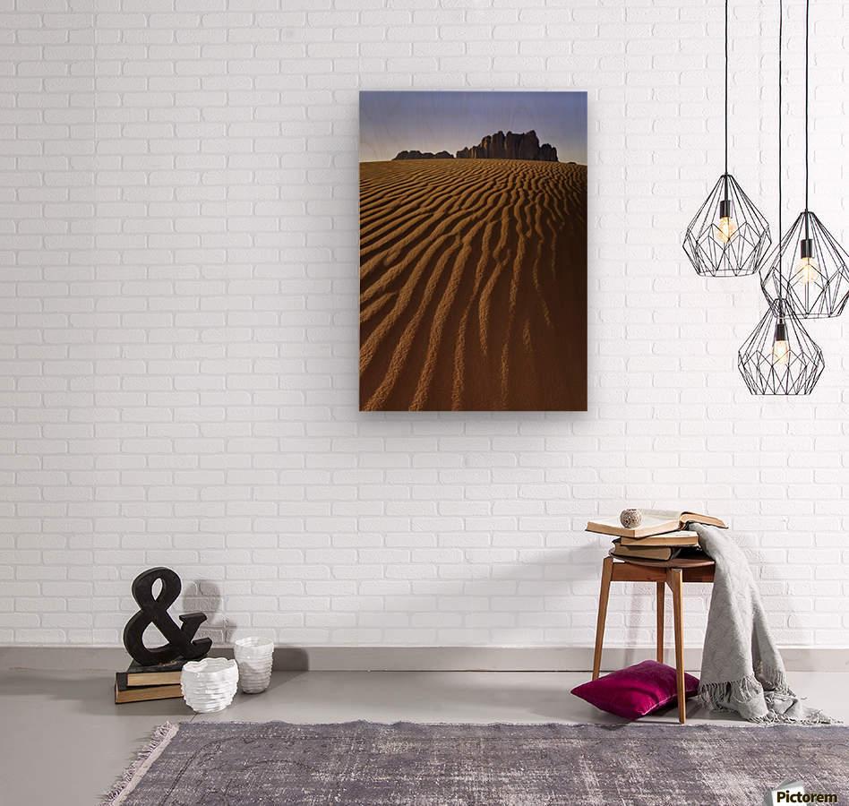 Rise Above  Wood print