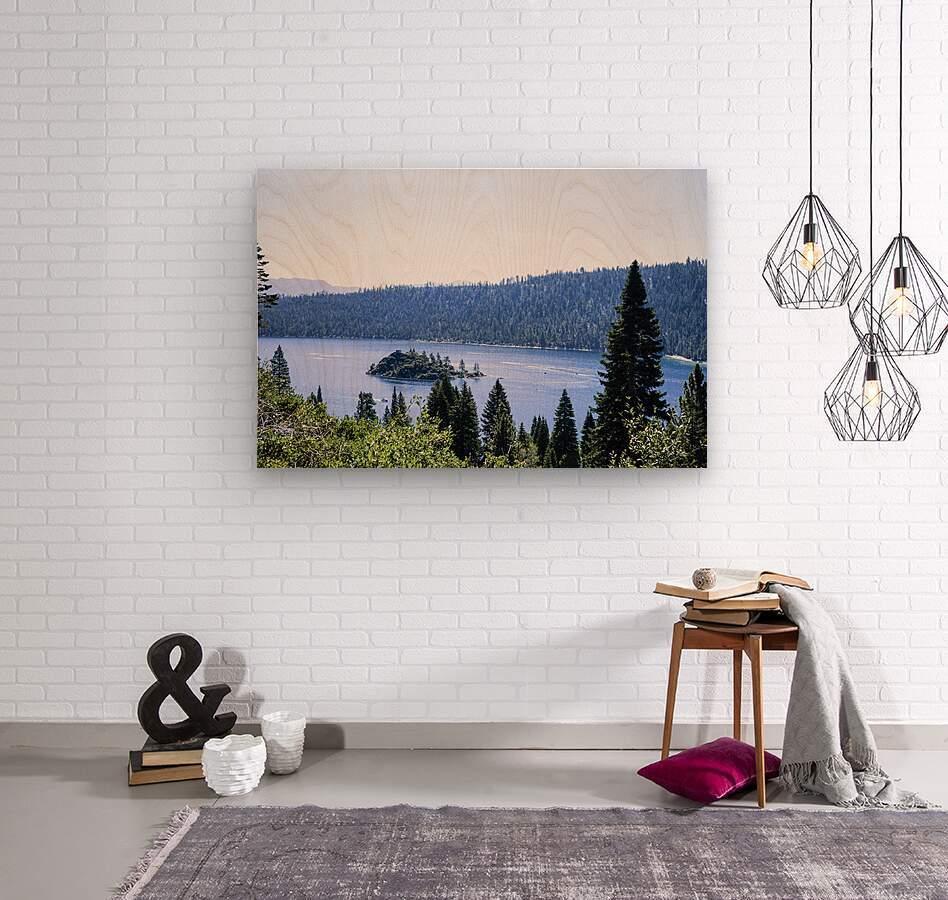 Secret View  Wood print