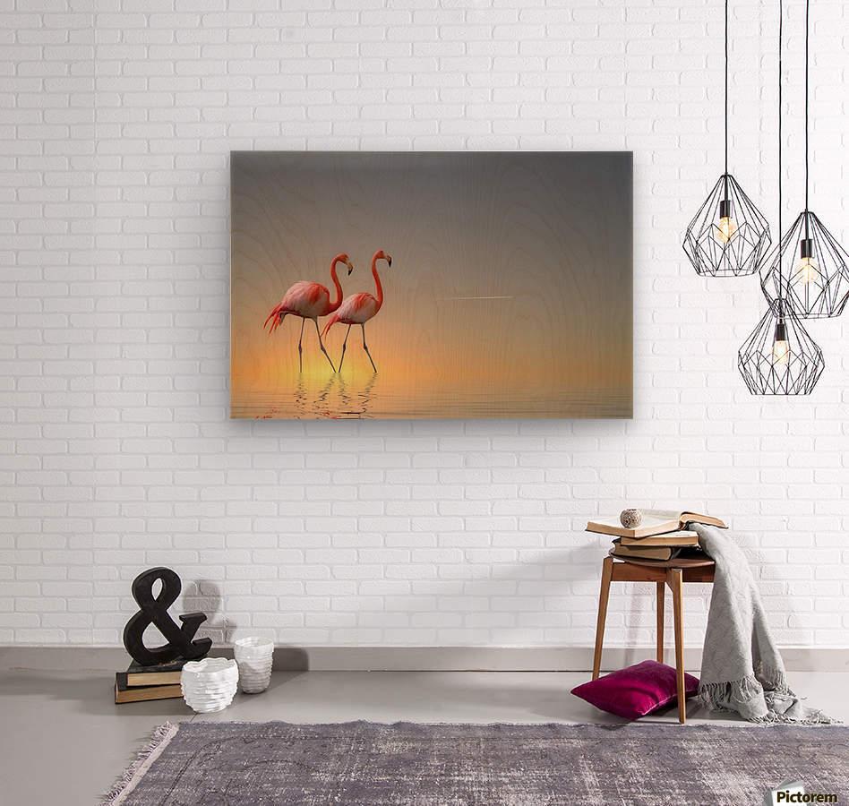 Serenity II  Wood print
