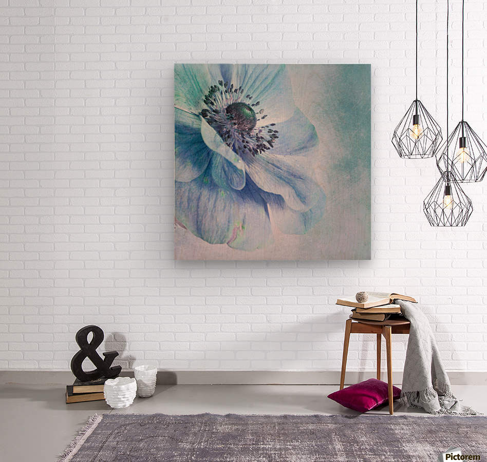 Shades of Blue by Priska Wettstein   Wood print
