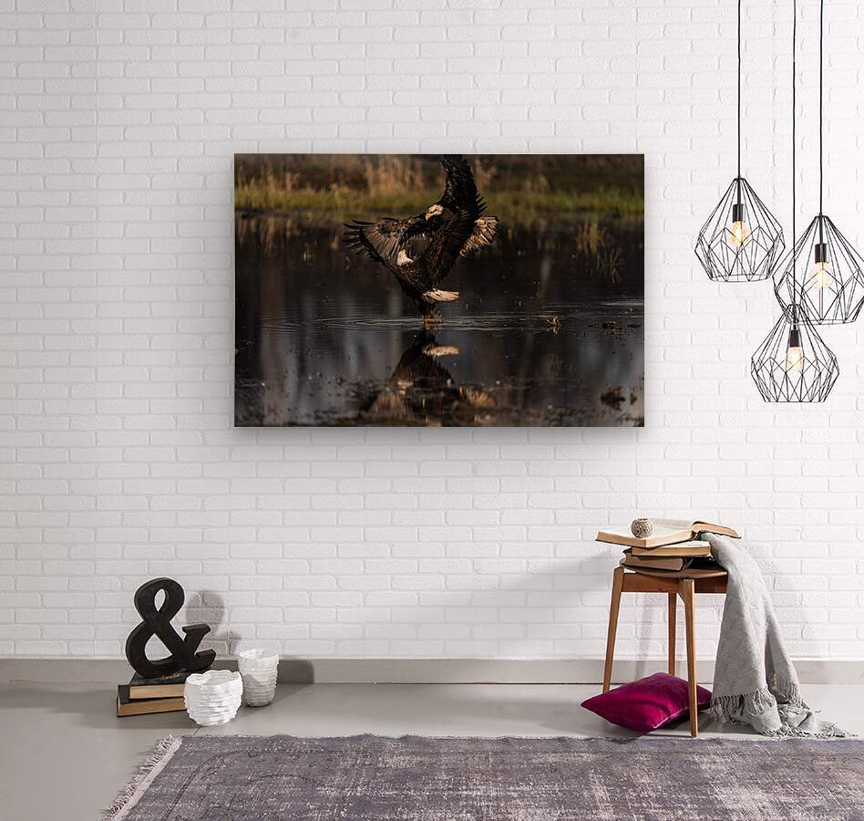 Wesley Allen Shaw 09085  Wood print
