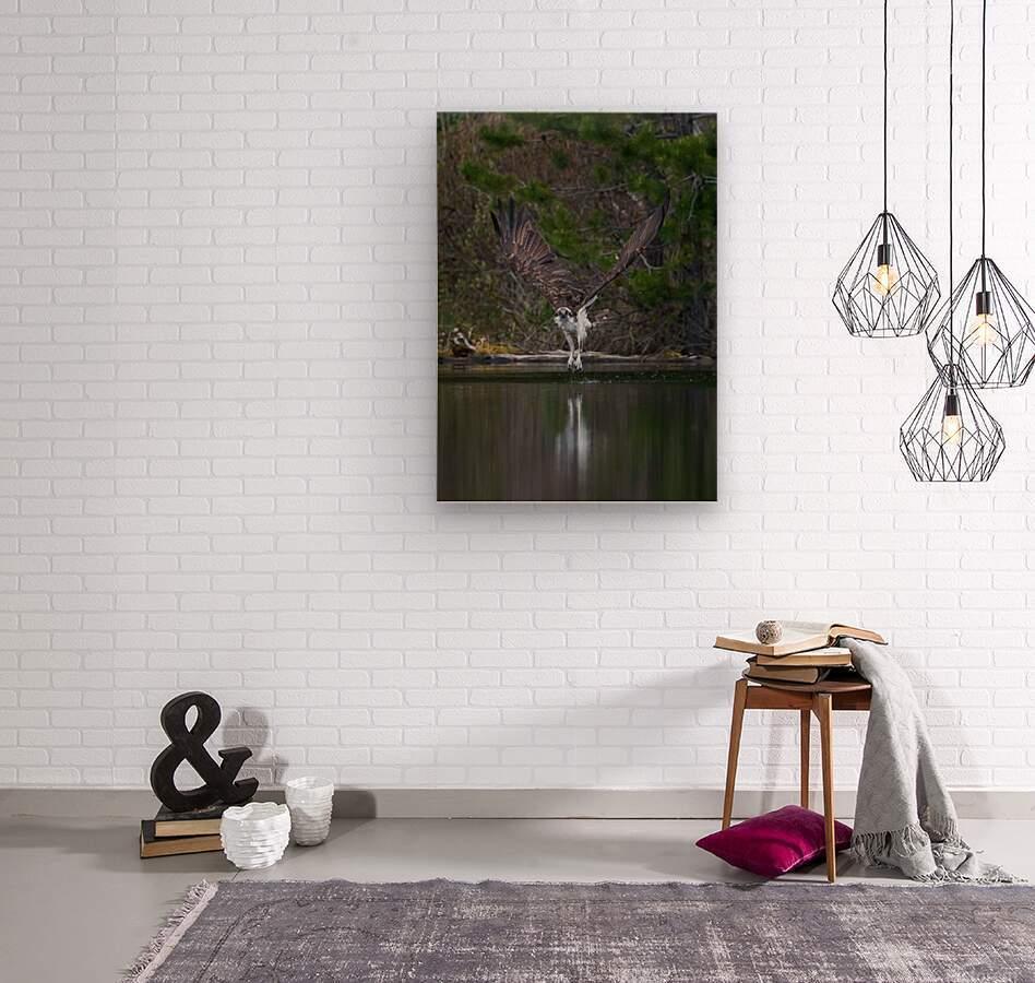 Wesley Allen Shaw 07518  Wood print