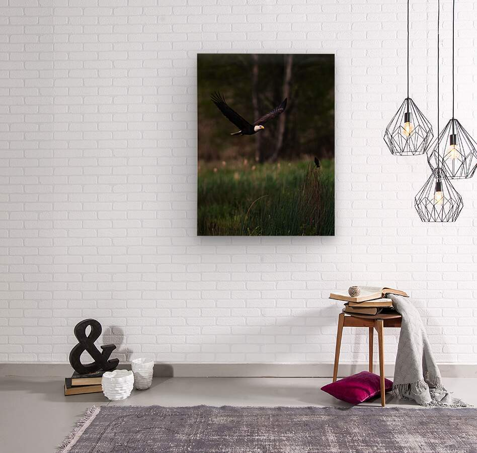Wesley Allen Shaw 04579  Wood print
