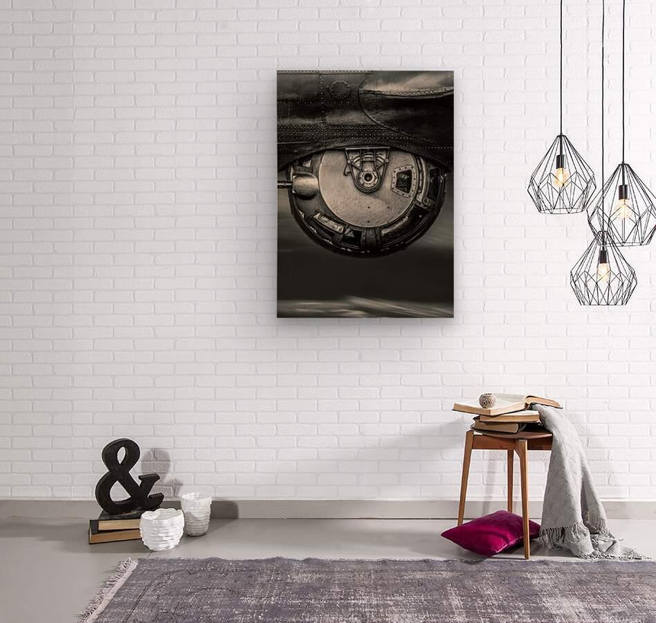 Ball Turret  Wood print