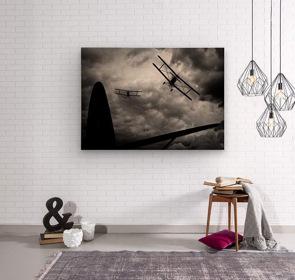 Air Pursuit   Wood print