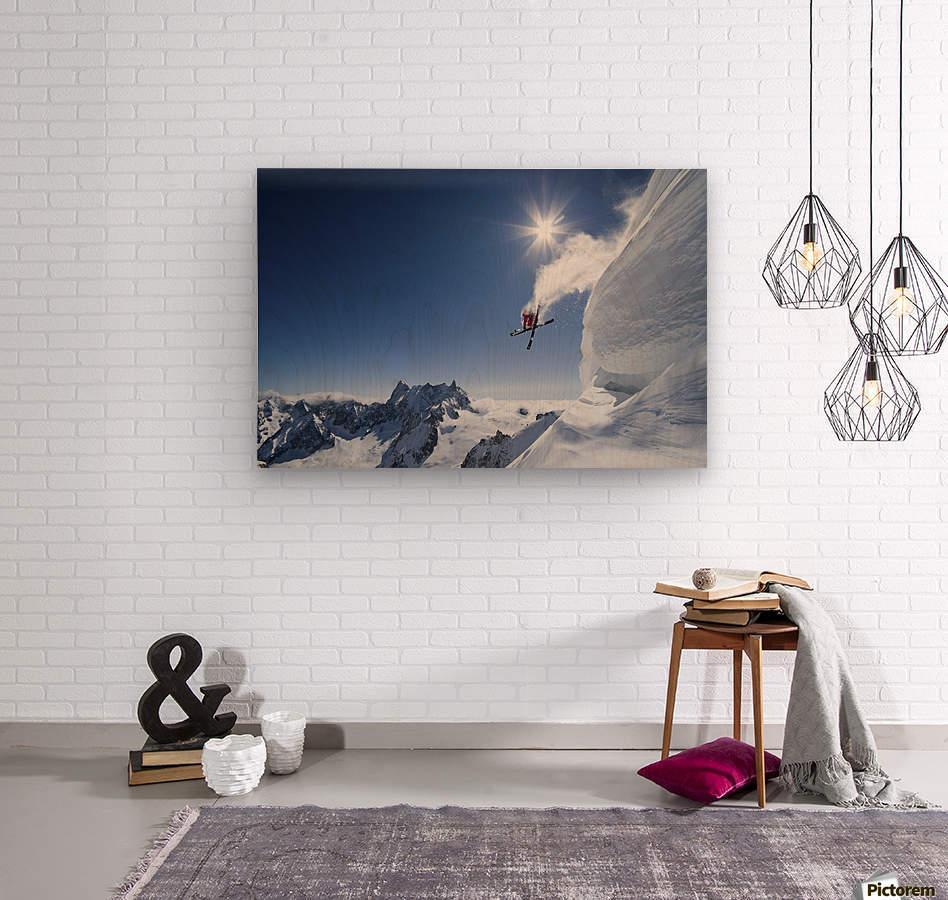 Higher  Wood print