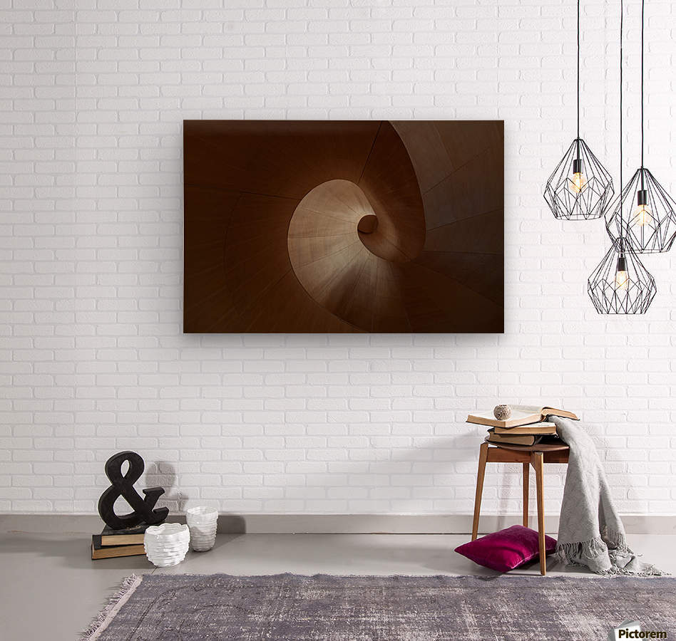 Spiral by Heather Bonadio   Wood print