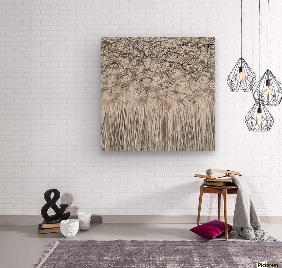 Parallelism  Wood print