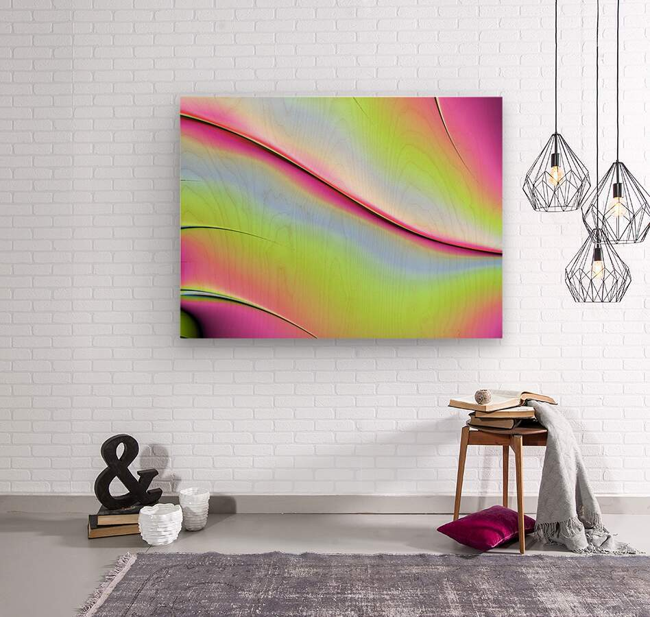 Abstract background.  Wood print