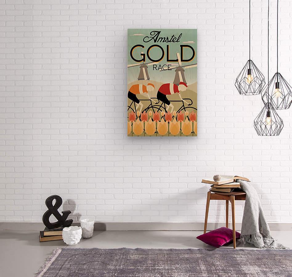 Amstel Gold Race  Wood print