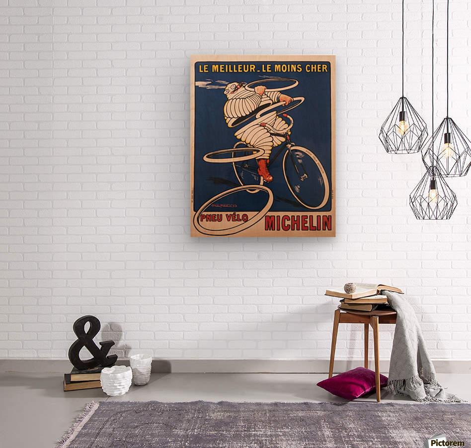 Pneu Velo  Wood print