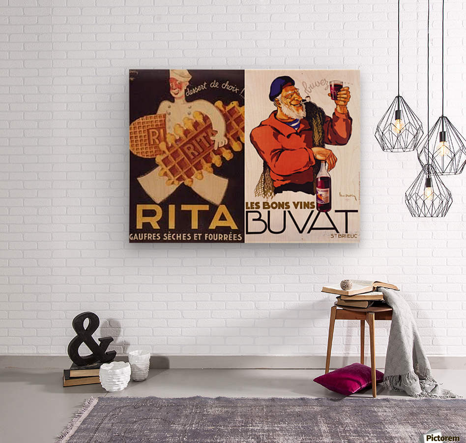 Rita Buvat  Wood print