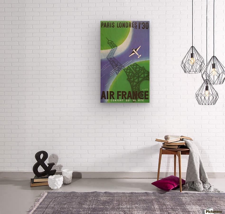 Paris Londer  Wood print