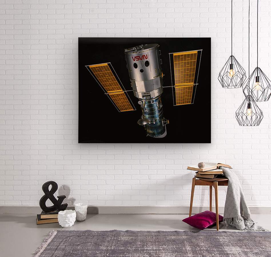 NASA Hubble Space Telescope - Outer Space Image  Wood print