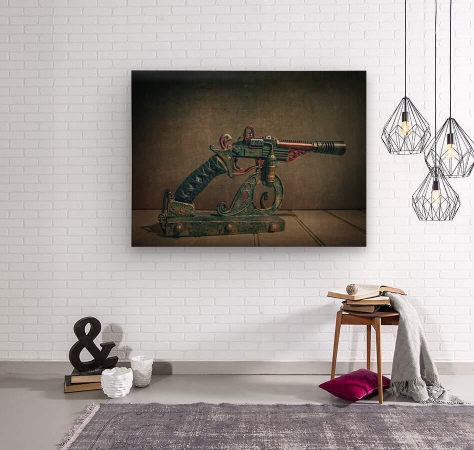 Steampunk 2  Wood print