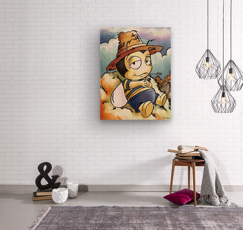 Its Country Buster  Wood print