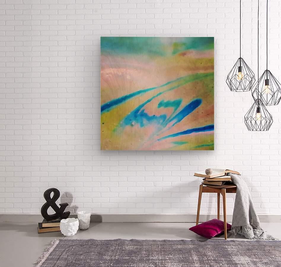 Pierce Anderson Swirls  Wood print