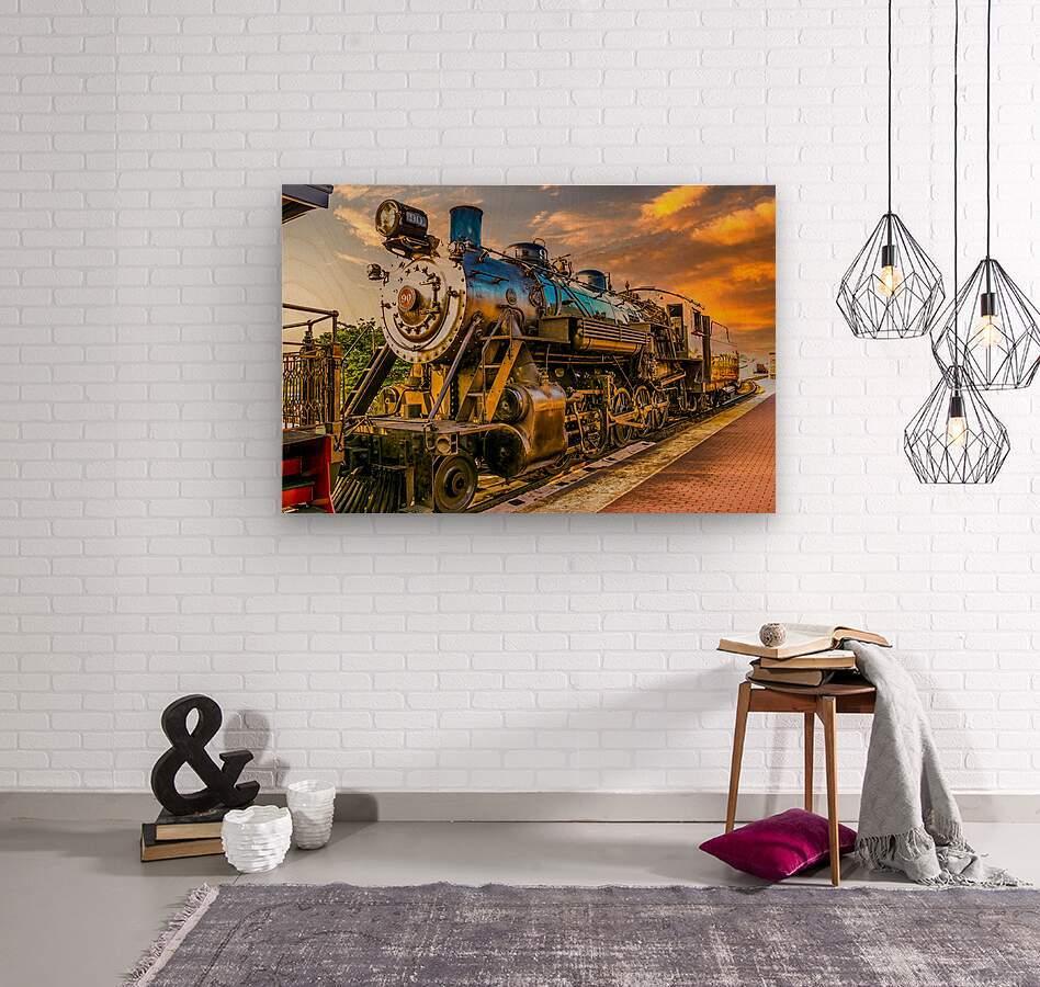 Strasburg 24  Wood print