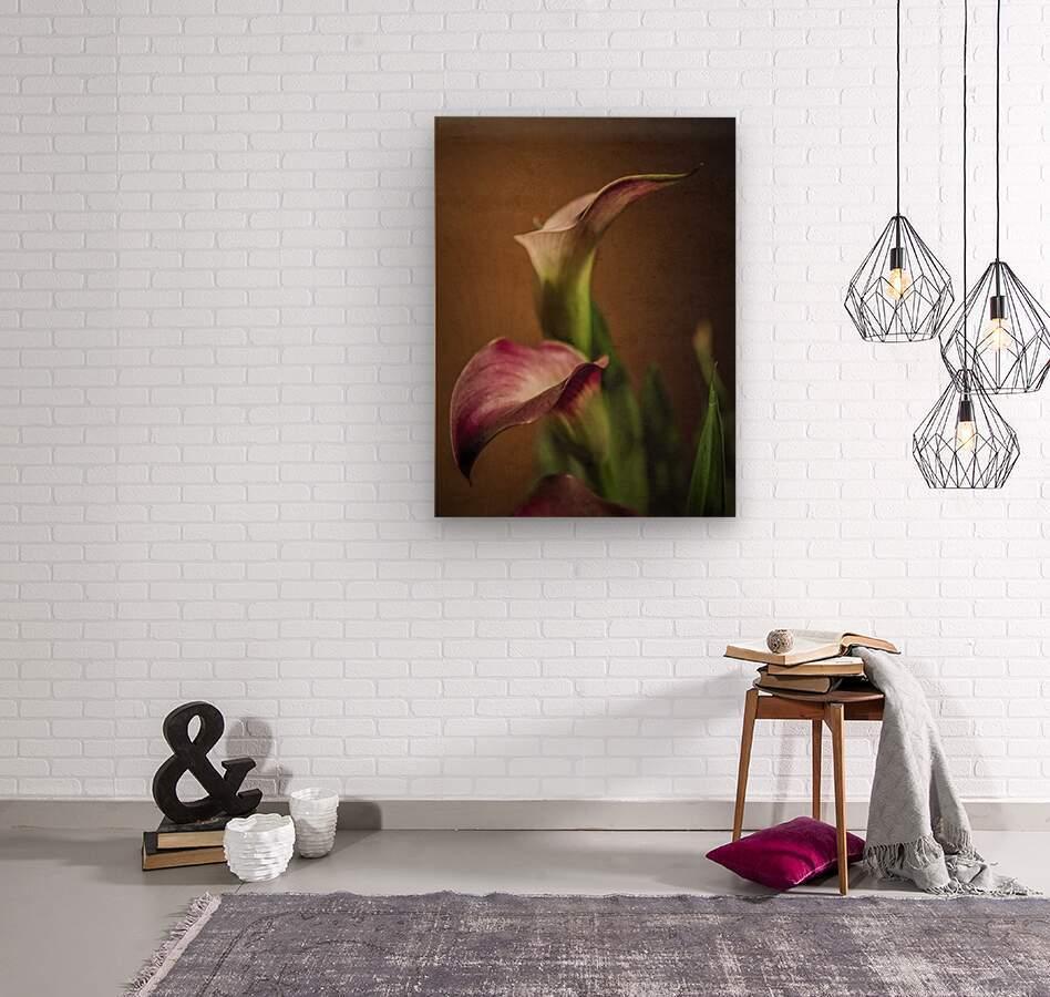 Etude Zen 8 b  Wood print