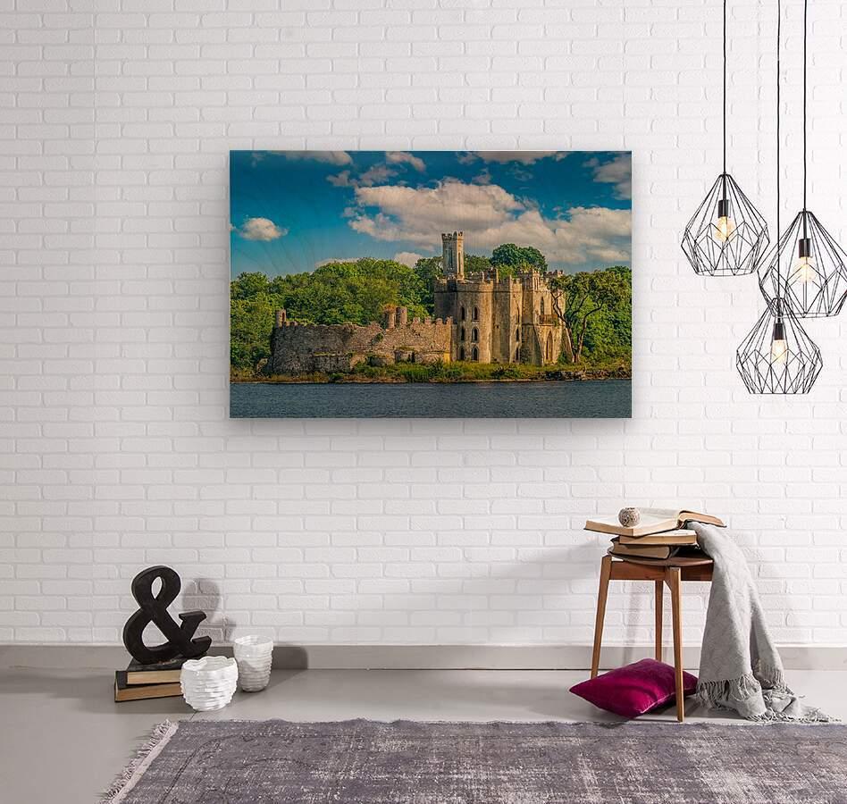 McDermott s Castle Ruins  Wood print