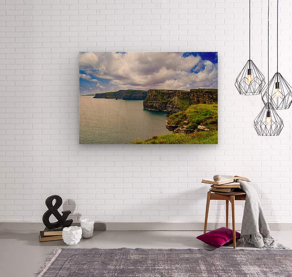 Cliffs Of Moher 5  Wood print