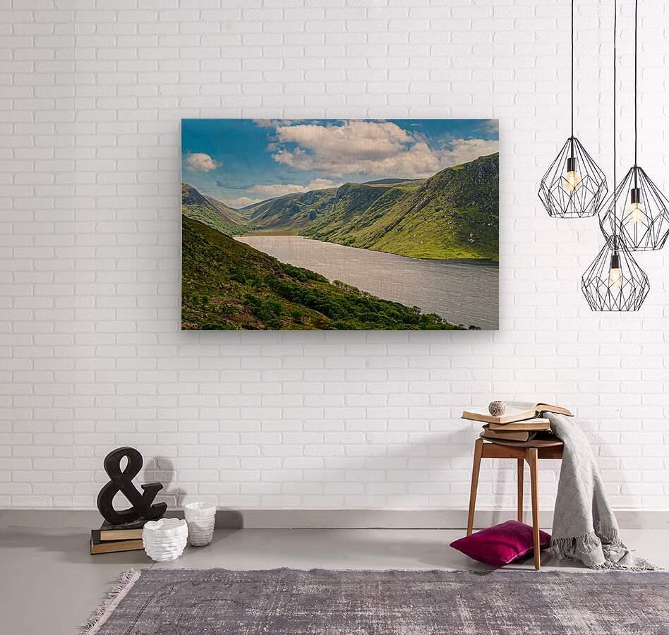 Lough Veagh  Wood print