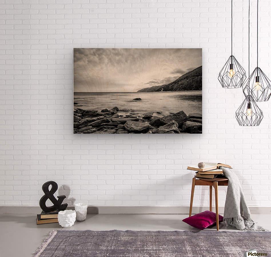 Serenity Waters  Wood print